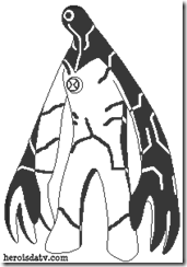 Ultra_T_Ua_para_colorear Desenhos para colorir e pintar Ben 10 Supremacia Alienígena