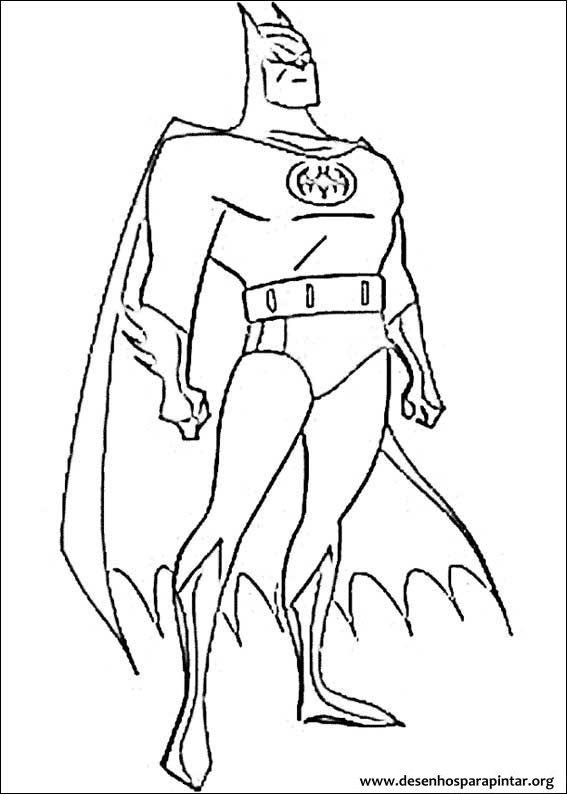 Batman Desenhos Para Colorir E Pintar Desenhos Para Pintar E