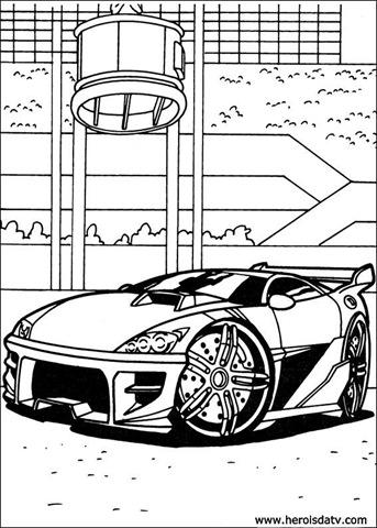 Desenhos Para Colorir Do Hot Wheels Desenhos Para Pintar E Colorir