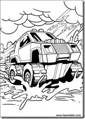 desenhos para colorir carros Hot Wheels carrinhos battle force 5 carro de ferro mattel matchbox