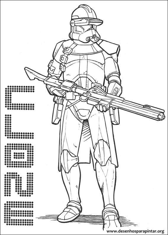 Star Wars Desenhos Para Pintar E Colorir Desenhos Para