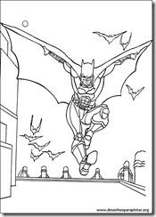 batman desenhos para colorir e pintar imprimir gratis