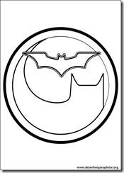 batman logo desenhos para colorir e pintar imprimir gratis