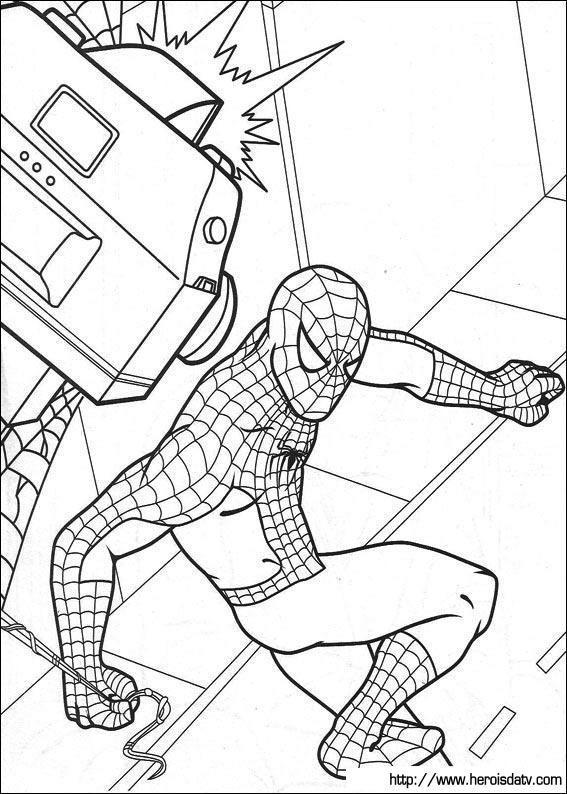 homem aranha 42 desenhos para imprimir colorir e pintar desenhos