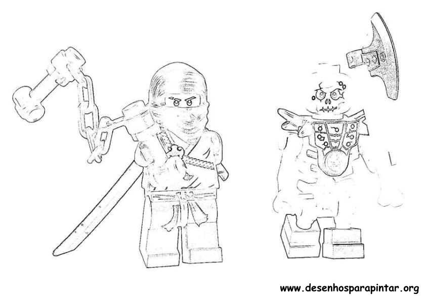 Lego Ninjago Desenhos Para Imprimir Pintar E Colorir Desenhos Para Colorir Lego