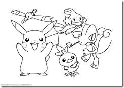 Desenho do Pokemon  para pintar2