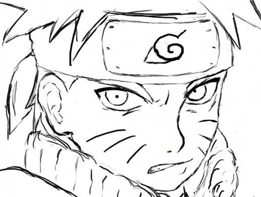 Naruto Desenhos Para Imprimir Pintar E Colorir