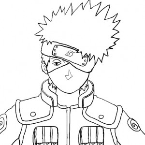 Naruto Desenhos Para Pintar E Colorir