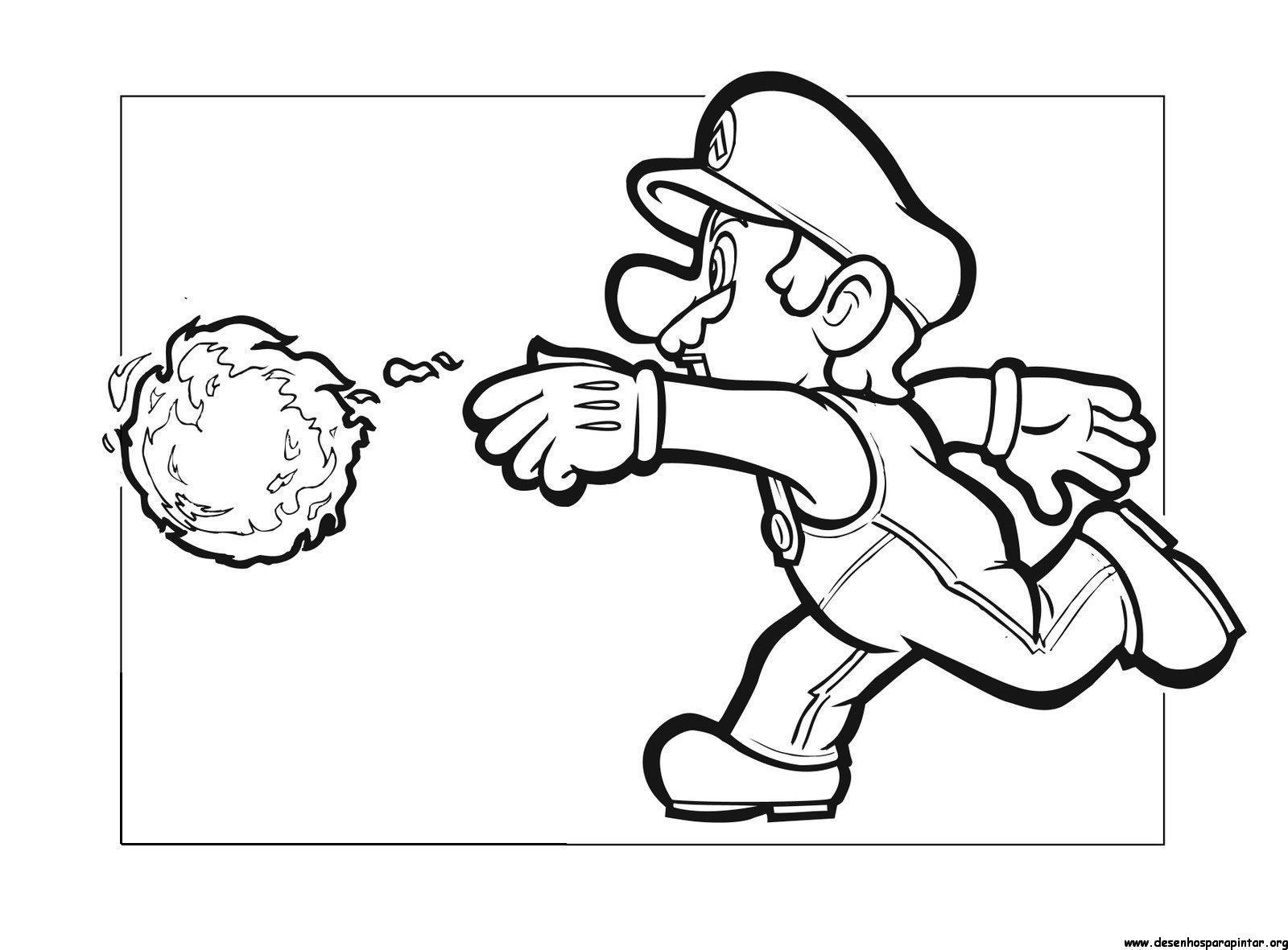 25 Desenhos Do Angry Birds Para Colorir Em Casa: Super Mario Bros, Desenhos Para Imprimir Colorir E Pintar