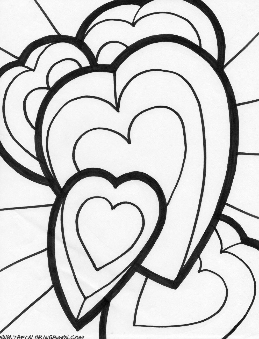 Dia Dos Namorados Desenhos Para Imprimir Pintar E Colorir