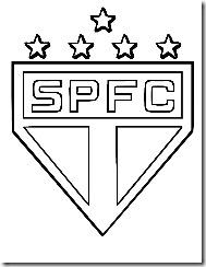 Sao Paulo Futebol Clube Desenho Para Imprimir Colorir E Pintar