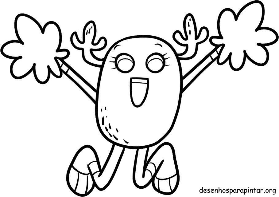 Free gumball cartoon work coloring