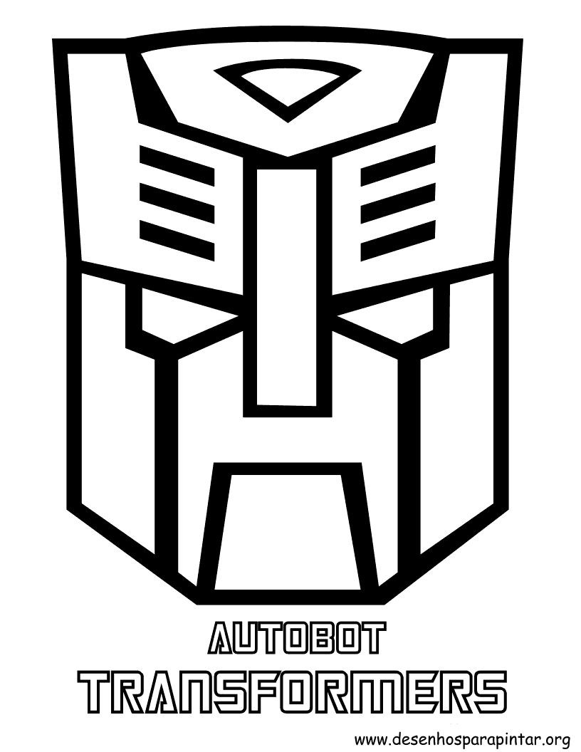 autobot coloring pages - transformers desenhos para imprimir colorir e pintar dos