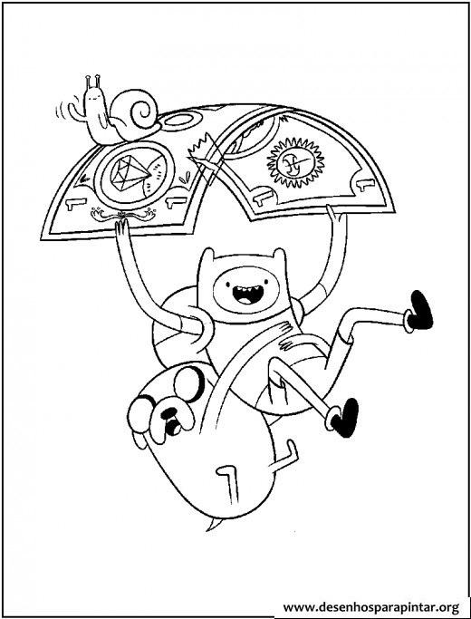 Hora de Aventura, desenhos para imprimir colorir e pintar » Desenhos ...