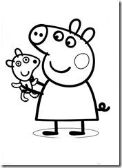 Peppa Pig Desenhos Para Imprimir Colorir E Pintar Desenhos Para