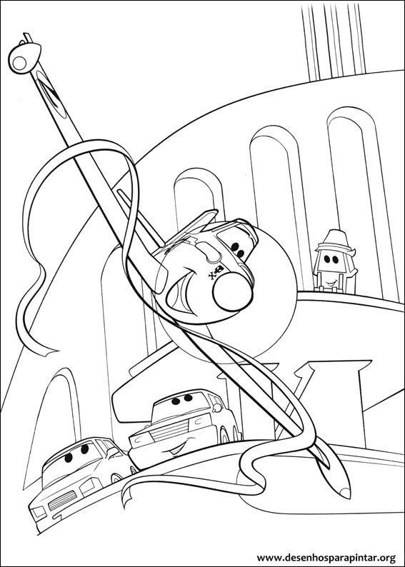 Avioes Da Disney Pixar Desenhos Para Colorir Imprimir E Pintar