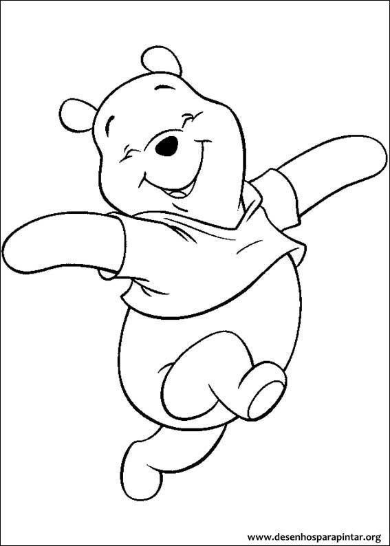 Ursinho Pooh Tigrao Leitao E Toda A Turma Desenhos Para