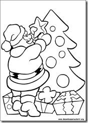 Papai Noel Desenhos Para Imprimir Colorir E Pintar Do Natal
