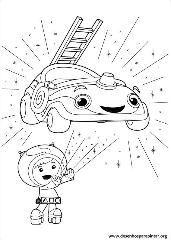 Umizoomi Nick Jr desenhos para