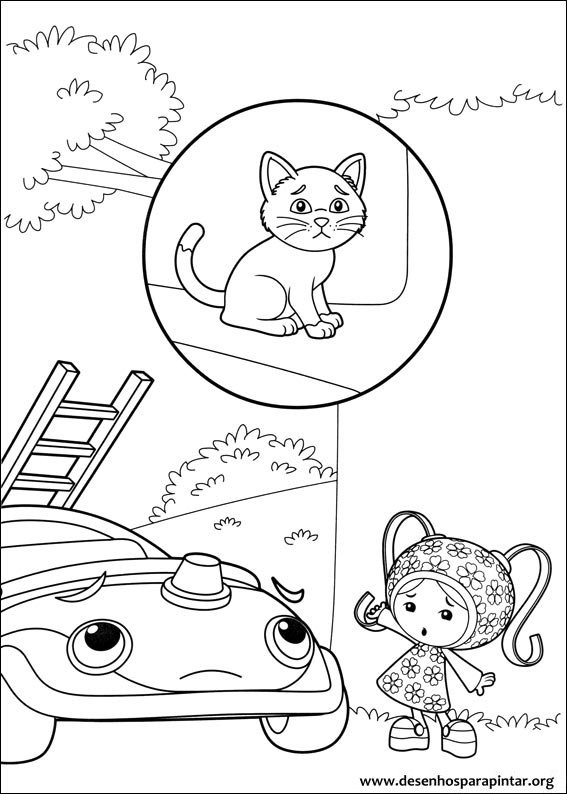 Umizoomi Coloring Page Blaze In Addition Worksheets For Grade 2 ...