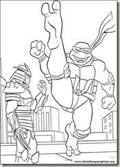 Tartarugas Ninja Desenhos Para Imprimir Pintar E Colorir Gratis Do