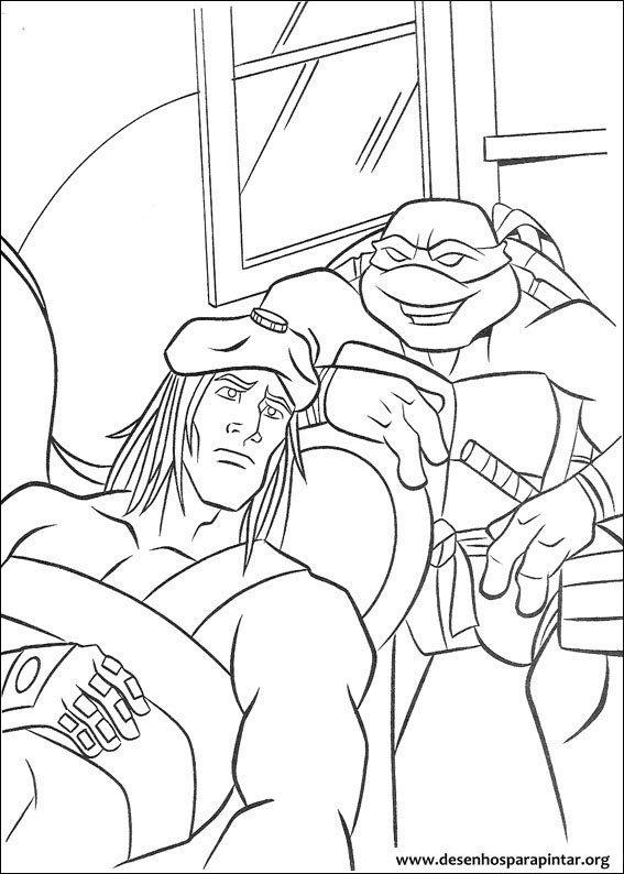 Tartarugas Ninja desenhos para