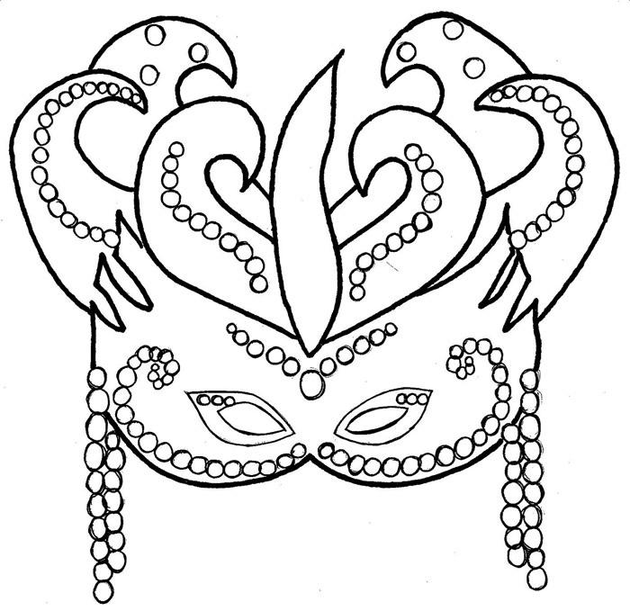 Mascaras De Carnaval Para Imprimir Recortar Pintar E