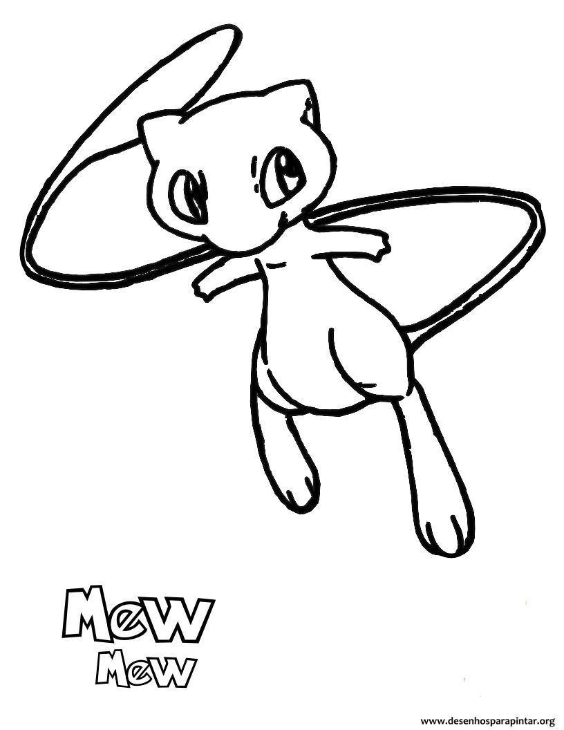 Desenhos Pokemon Para Imprimir Colorir E Pintar Nova Lista Com