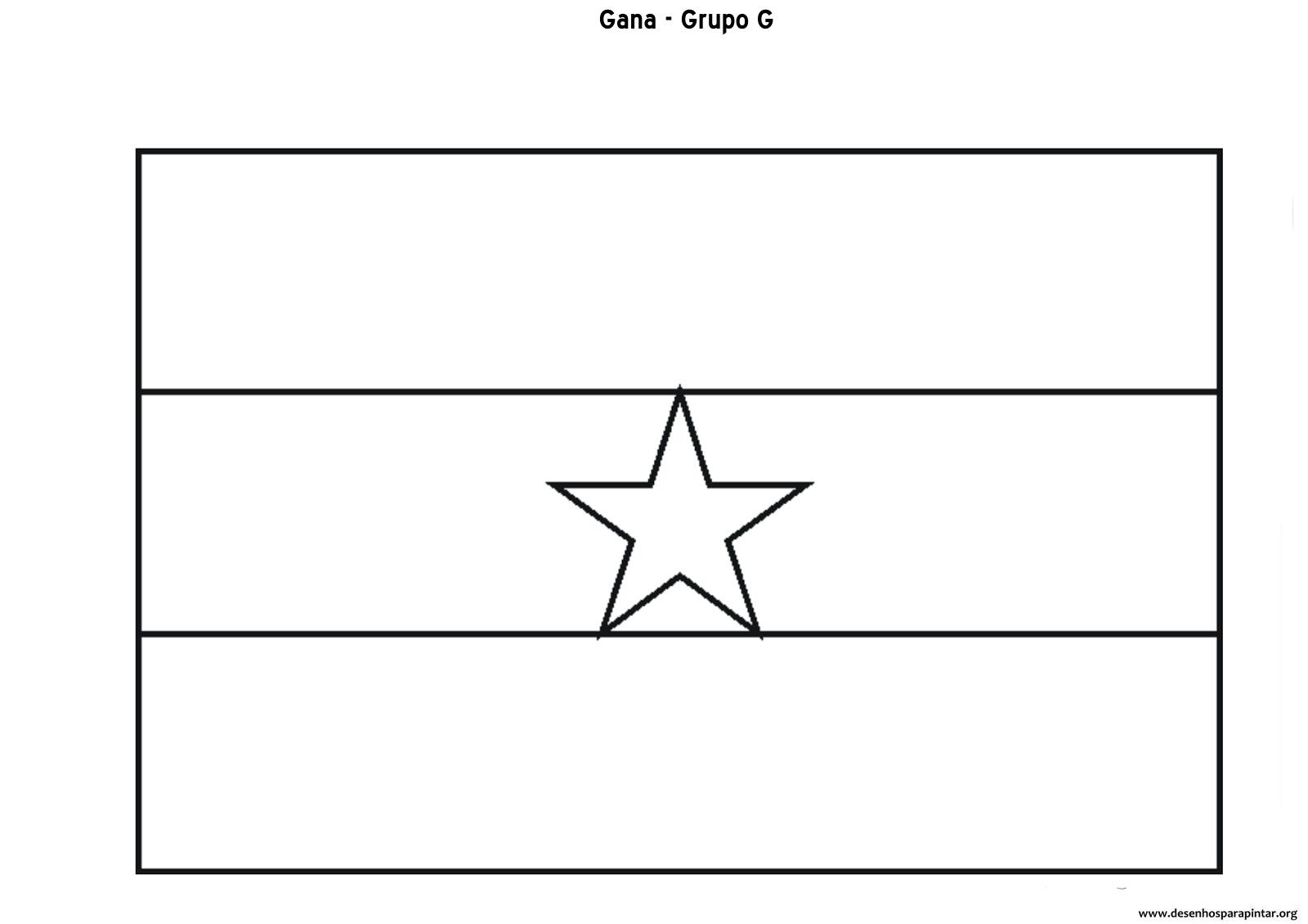 Bandeiras Das Seleções Do Grupo G
