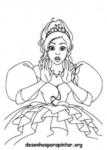 Princesas Desenhos Para Pintar E Colorir