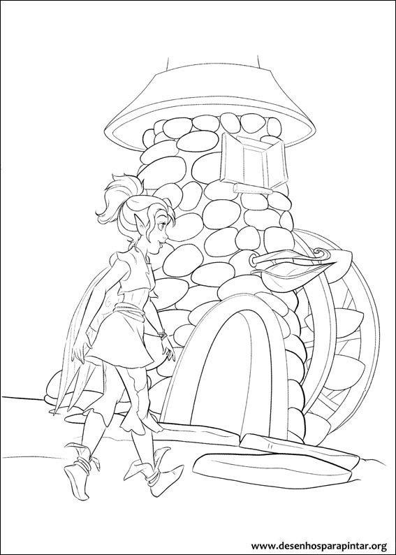 Tinker Bell Fadas E Piratas Desenhos Para Imprimir