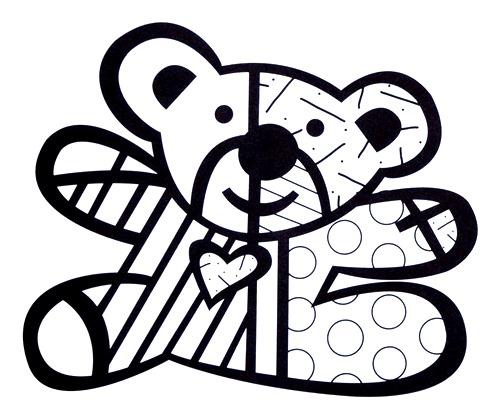 Pinturas Do Romero Britto Desenhos Para Imprimir Colorir E Pintar