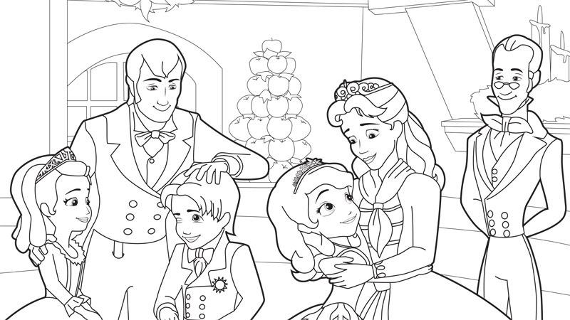 Jogo Princesa Sofia da Disney desenhos para imprimir  : princesasofiadisneydesenhospintarimprimir007 from www.jogosonlinewx.com.br size 800 x 450 jpeg 112kB