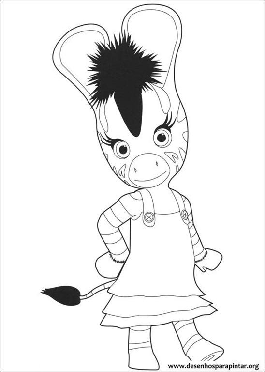 Zou a zebra da disney desenhos para imprimir colorir e pintar desenhos para pintar e colorir - Coloriage zebre a imprimer ...