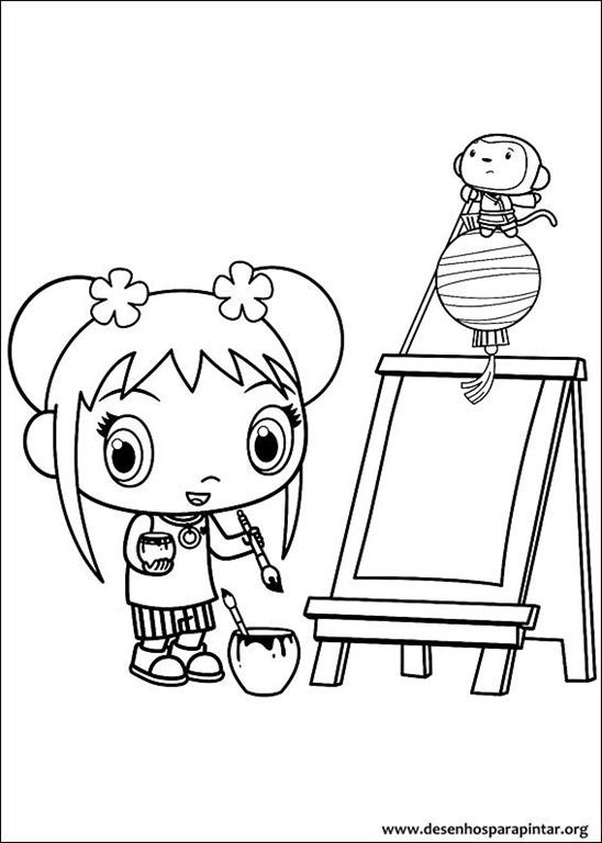 Ni Hao Kai Lan desenhos para imprimir