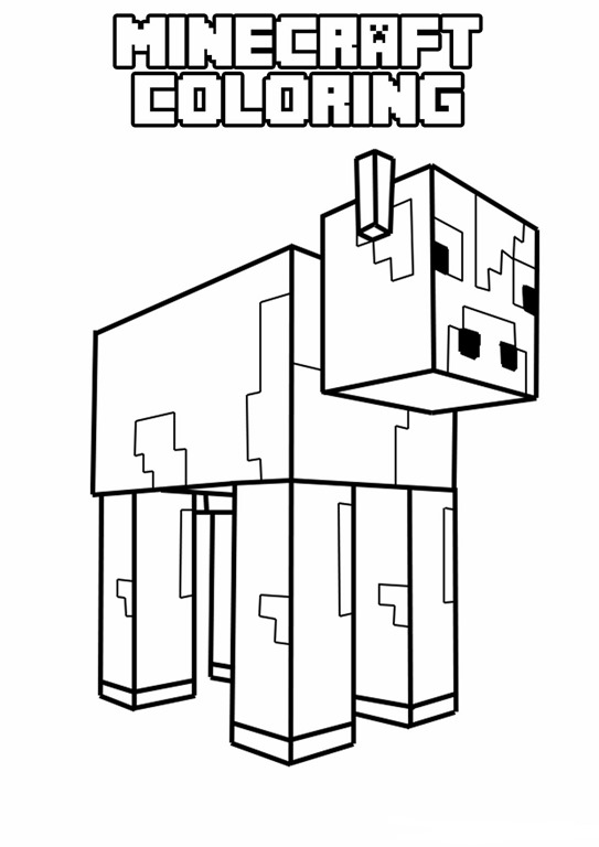 Free Coloring Pages Of Minecraft Mutant Spider Minecraft Spider Coloring Pages