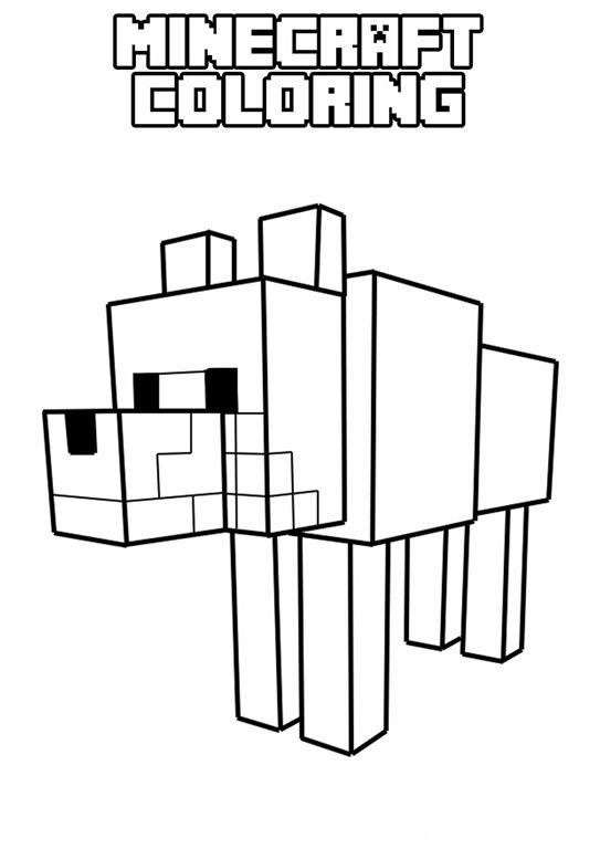 Dibujos Para Colorear De Minecraft - colorear.website