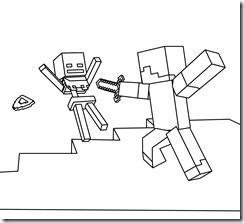Minecraft Desenhos para colorir