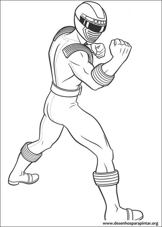 Power Rangers desenhos para imprimir