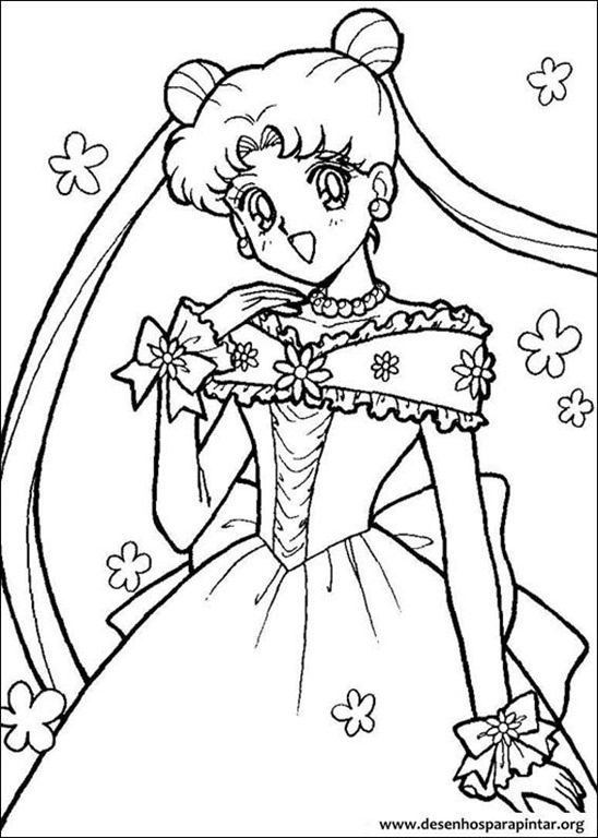 sailor moon desenhos para imprimir colorir e pintar desenhos para