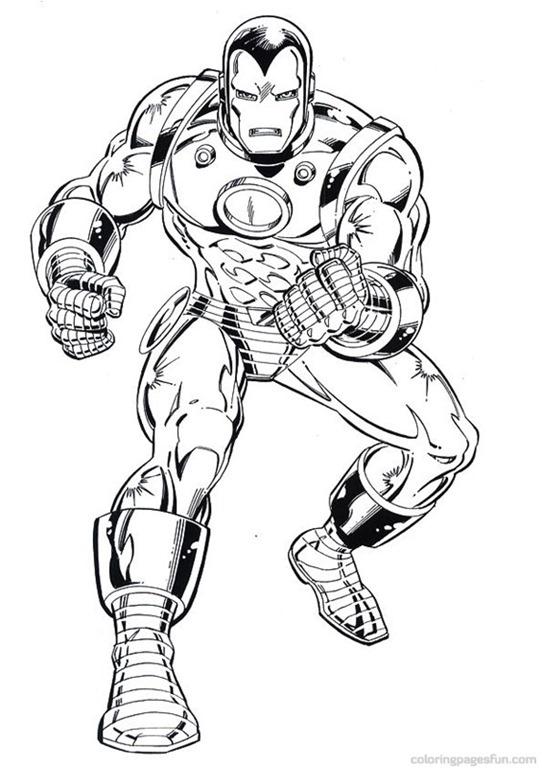 jogo homem de ferro  iron man desenhos para colorir
