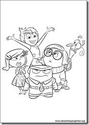 divertida mente desenhos para imprimir colorir e pintar gratis