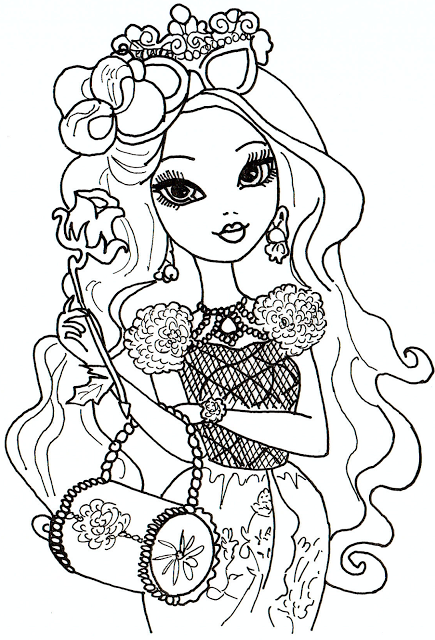 ever after high desenhos para colorir imprimir e pintar da madeline