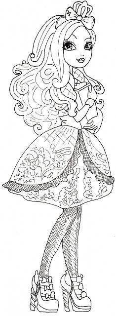 Madeline Desenhos Para Colorir