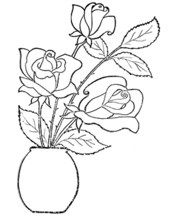 desenhos de Flores para adultos