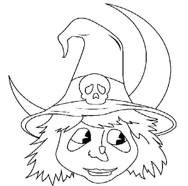 Mascaras De Bruxas E Monstros Do Halloween Desenhos Para Colorir
