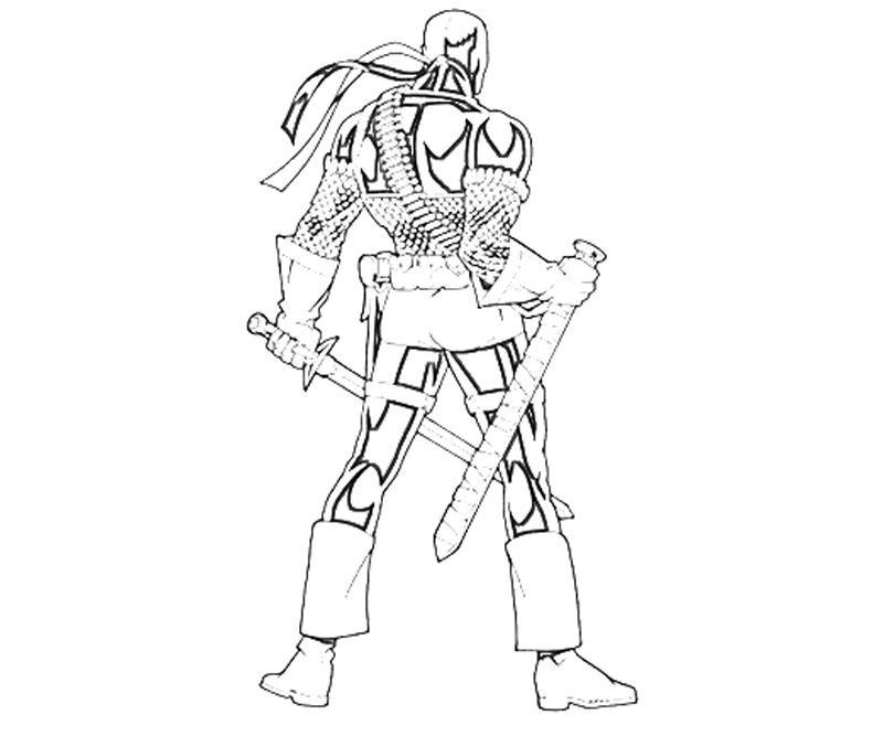 Deadpool Desenhos Para Colorir Imprimir E Pintar