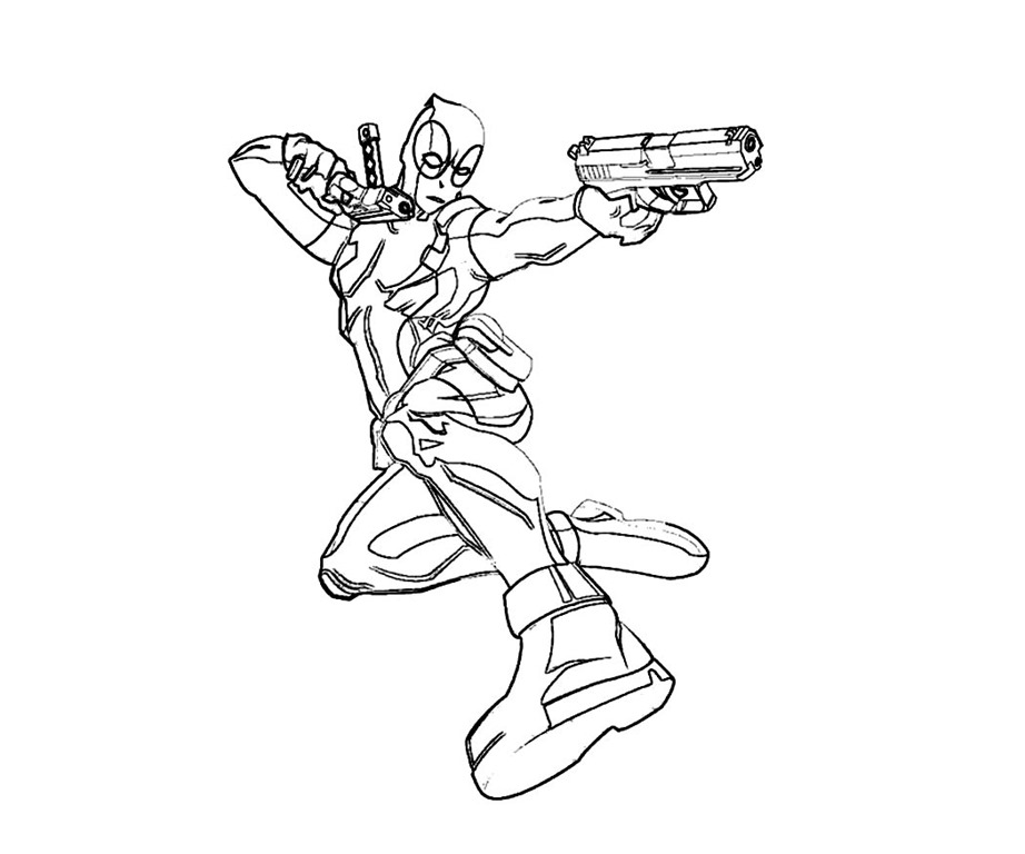Deadpool Para Colorear Imagenes De Deadpool Para Colorear: Deadpool Desenhos Para Colorir Imprimir E Pintar