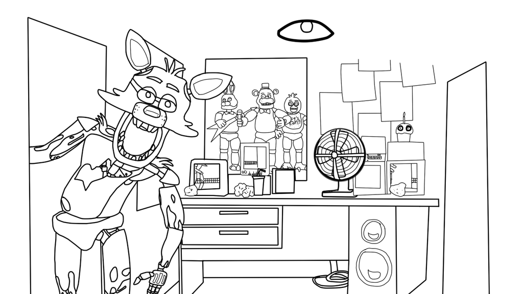 Five Nights At Freddys Desenhos Para Colorir Imprimir E Pintar