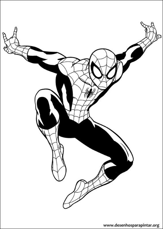Homem Aranha Nova Tigresa E Punho De Ferro Desenhos Para Colorir